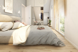 Doppelhaus Schlafzimmer
