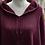 Thumbnail: Cotton Knit Sweater Hoodie