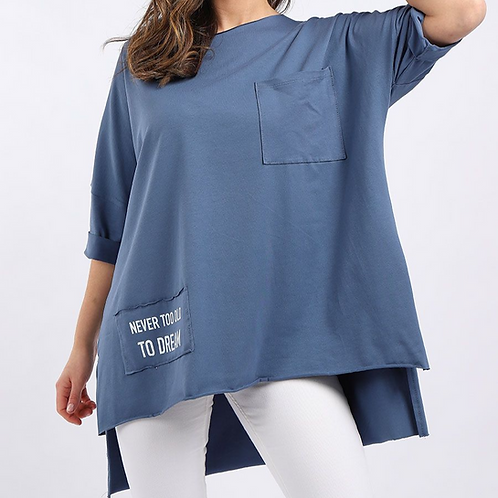 Dream Cotton Slouch Top
