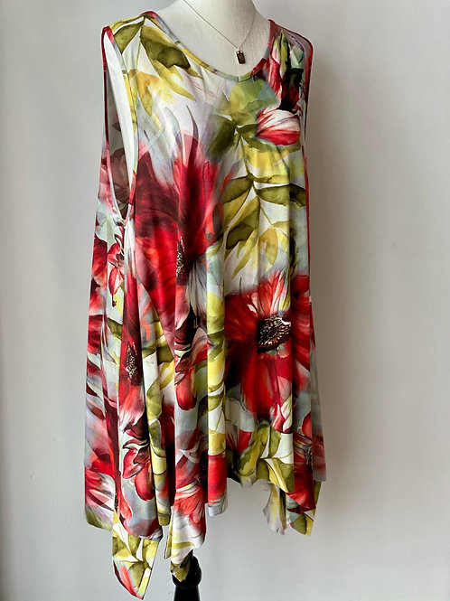 Flowers Tunic Q'Neel