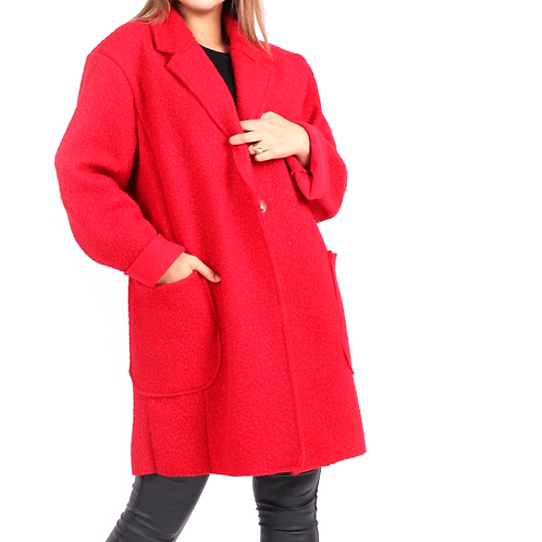 One Button Classic in Red