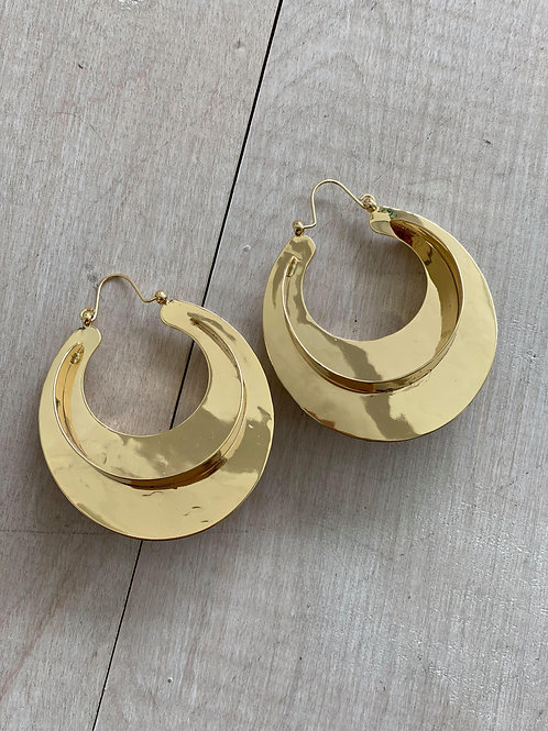 Gold Mode Earrings