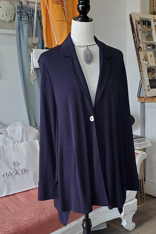 Qneel Single Button Swing Jacket & Pant 2pc Suit