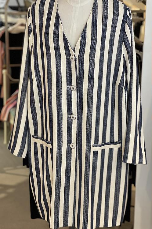 Qneel Cotton Long Plus Size Jacket
