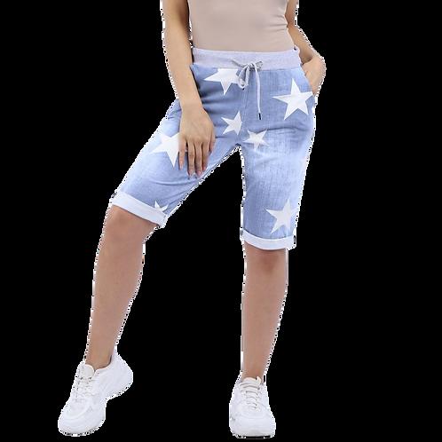 Star Cotton Shorts
