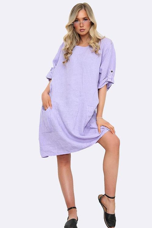 Pocket Linen Lilac