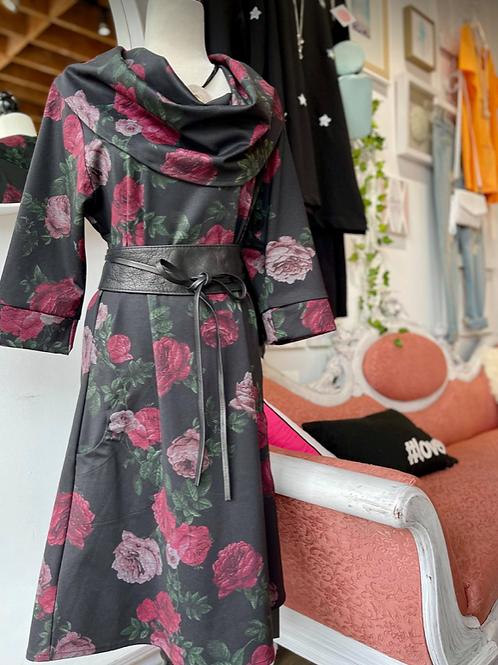 Retro Flower All Occassion Dress