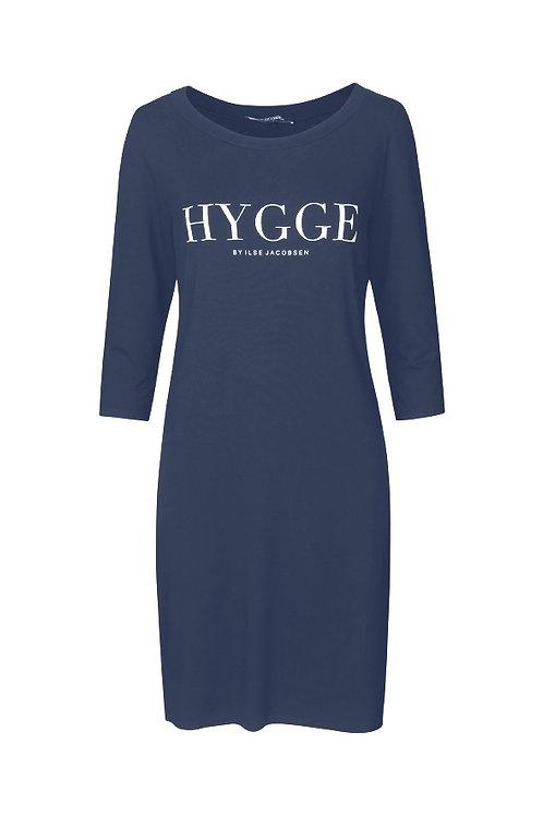Ilse Hygge Tunic Dress Navy