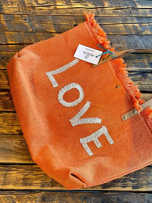 Love Tote Cotton Canvas