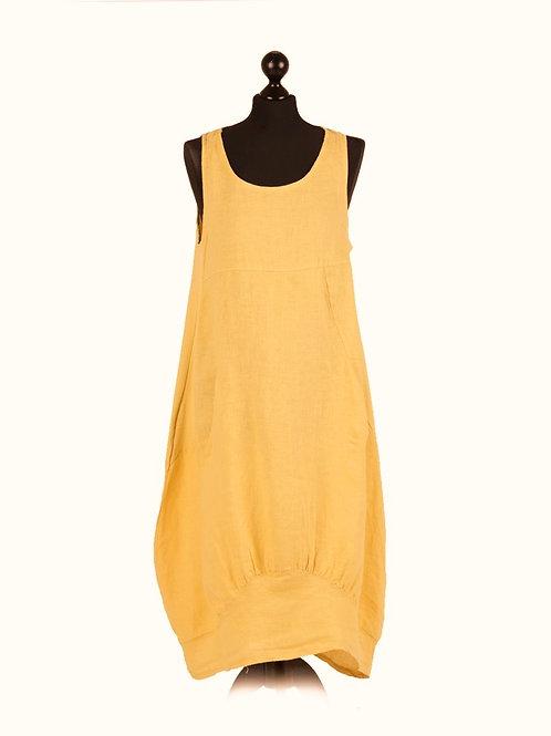 Linen Smart Maxi Dress
