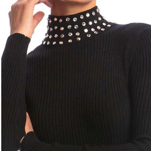 """Classic Turtleneck with """"Bling"""""""