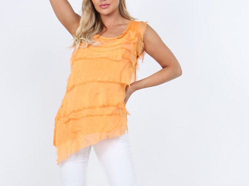 Silk Tiered Top