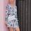 Thumbnail: Fleur Bleu Short Dress