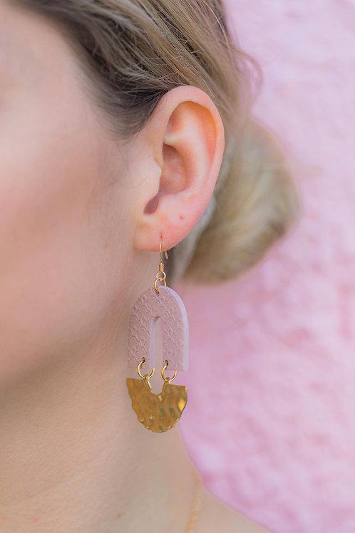 ebb & flo Clay Earrings