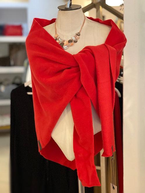 Red Shawl Fleece