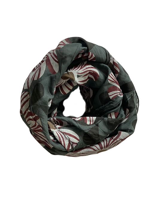 Bounty Silk/Cotton Oblique Cut Scarf
