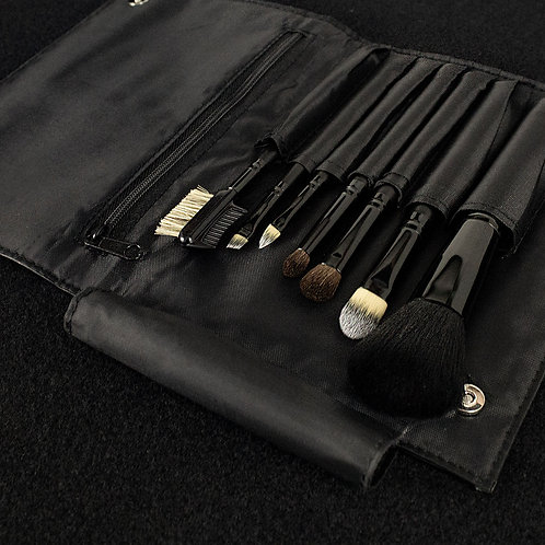 7 PC Travellers Cosmetic Brush Set