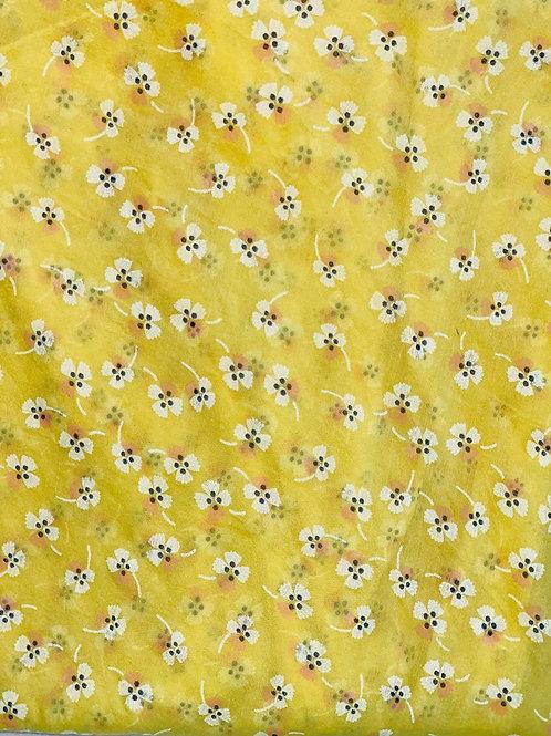 Clover Silk/Cotton Oblique Cut Scarf