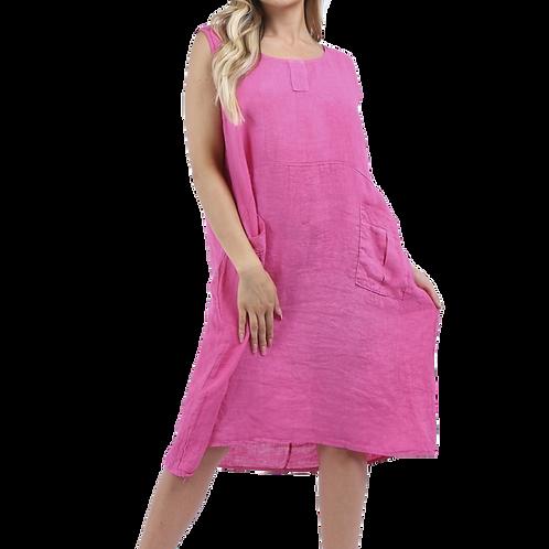 Linen Shift Dress