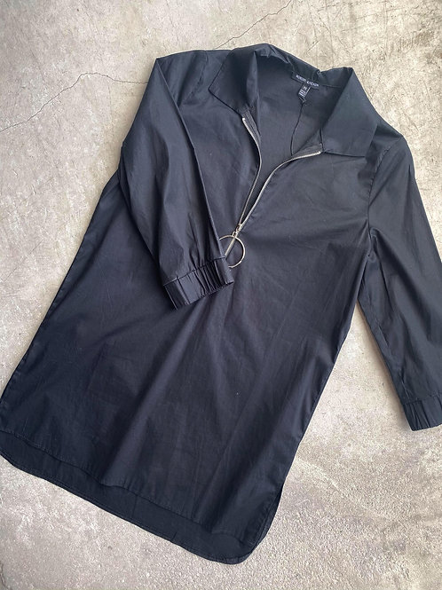 Made In Canada Long Half Zip Blouse