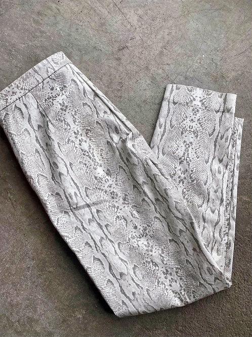 Gaudi Italy Skinny SnakePrint Pant