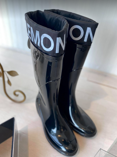 Lemon Jelly Tall Rain Boots