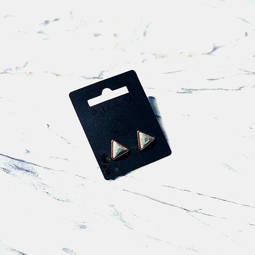 Rose Triangular Stone