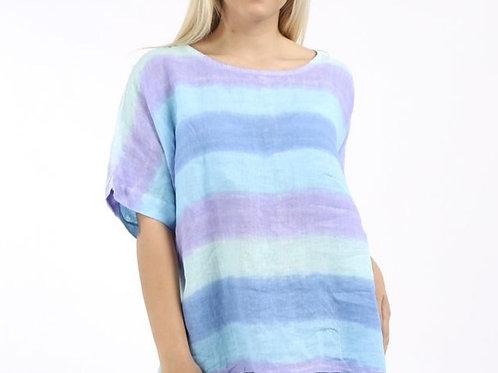 Linen Retro Stripe
