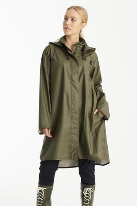 Ilse Jacobsen Kaki Raincoat