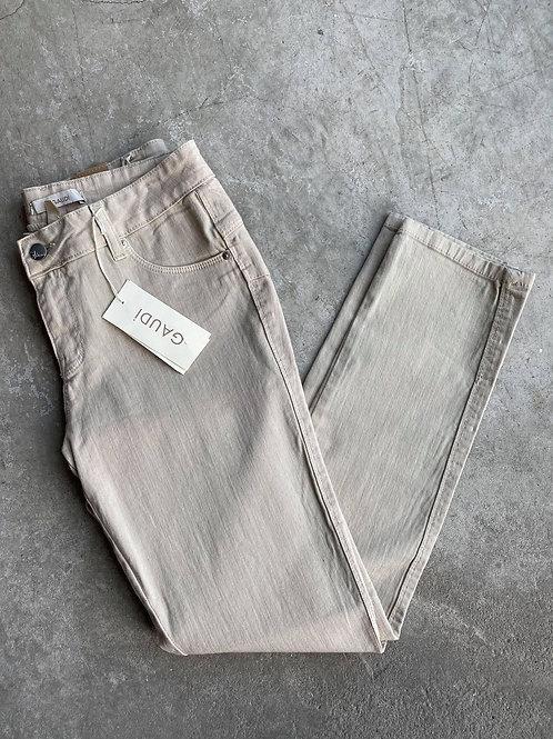 Gaudi Italy Beige Skinny Jeans