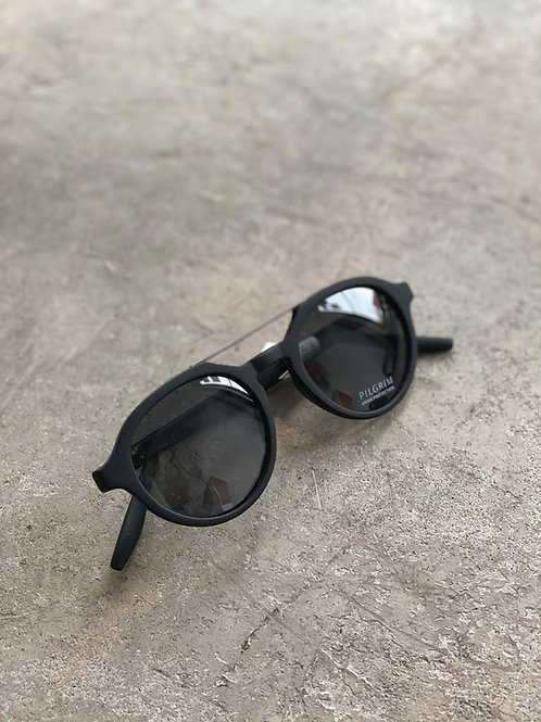 Aviator Retro Shades in Black