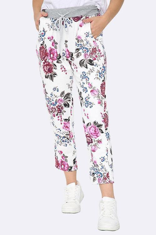 Rose Print Comfort Cotton