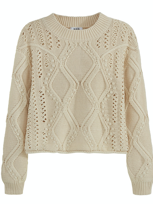 Heirloom Appeal Cotton Sweater
