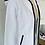Thumbnail: Cotton Contrast Zip Hooded Jacket