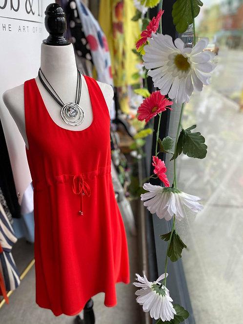 Fornarina Italy Red Dress