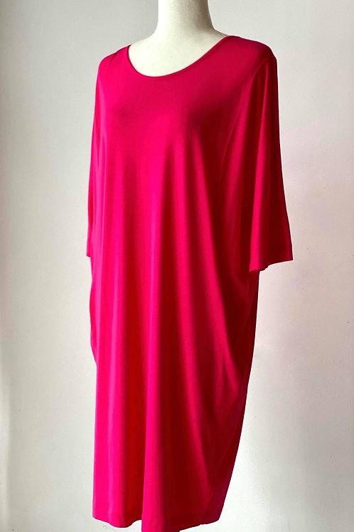 Q'Neel Denmark Pocketed Tulip T-Shirt Dress