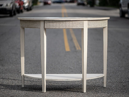Norma ½ Moon Console Table
