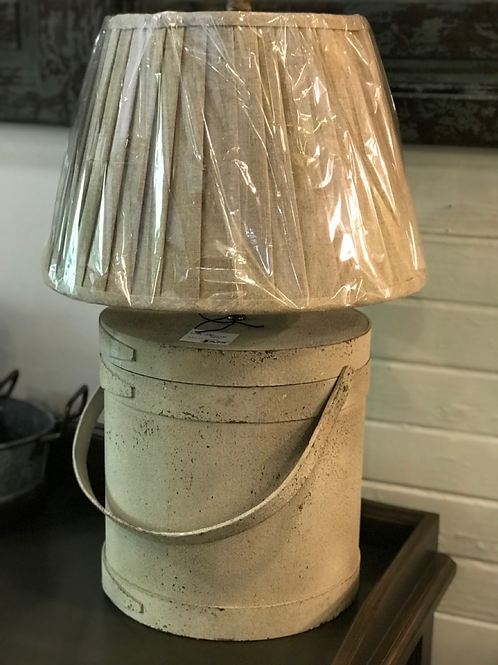 Milk Can Lamp