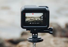 tela da câmera