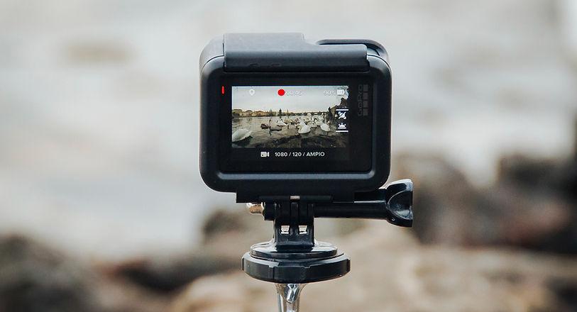 pantalla de la cámara