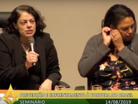 Integrante do LabGEPEN participa de evento sobre tortura no DF