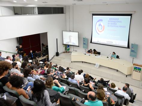 Gestão dos serviços penais é tema de última mesa do seminário