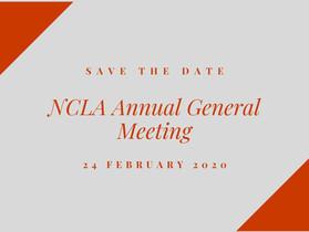 NCLA 2020 AGM