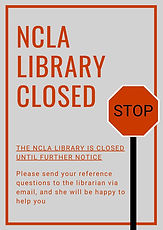 Library closed notice