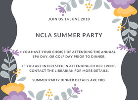 NCLA Summer Party