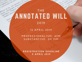 Annotated Will 2019