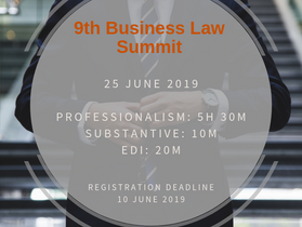 9th Business Law Summit