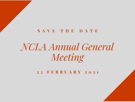 NCLA 2021 Annual General Meeting