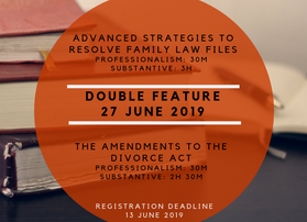 Family Law CPD Double Feature!