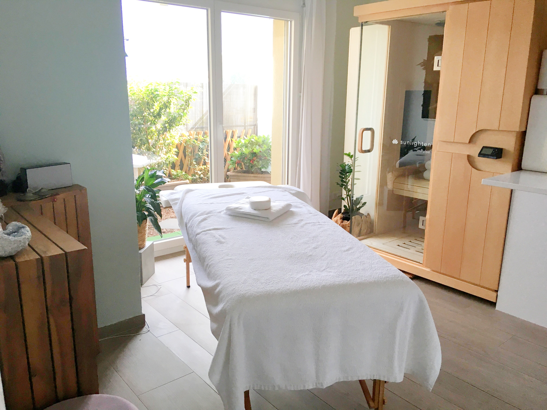 Salle de massage et Sauna